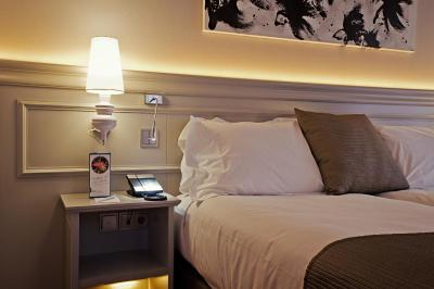 #spain @ Hotel Preciados book hotel online /The location.  The room was very clean  The mini bar was complimentary #Popular