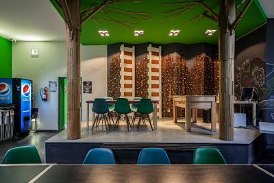 #spain @ Hostel Motion Chueca cheap hotel discount /I liked everything.   I must admit that the reception area could do with a bit of cleaning, especially the eating area and also the public toilet at reception.   Instead of … #hotel