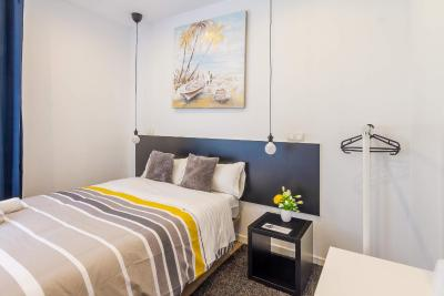 #spain @ Guest house A&Z JAVIER CABRINI best hotel websites /Very reasonably priced, conviniently locate near the Metro and a 15m drive from the airport. Comfortable room and clean shared bathroom #Railway