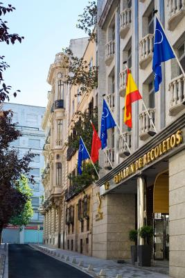 #spain @ Hotel VP Jardin de Recoletos hotel discounted rates /Location excellent. Salamanca district is very stylish. Room large and quiet as hotel in side street. Well equipped with kitchenette and good bathroom.  We declined the … #United