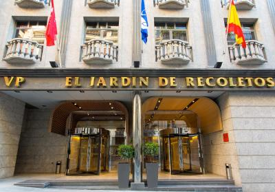 #spain @ Hotel VP Jardin de Recoletos discount hotels /Location excellent. Salamanca district is very stylish. Room large and quiet as hotel in side street. Well equipped with kitchenette and good bathroom.  We declined the … #Rome
