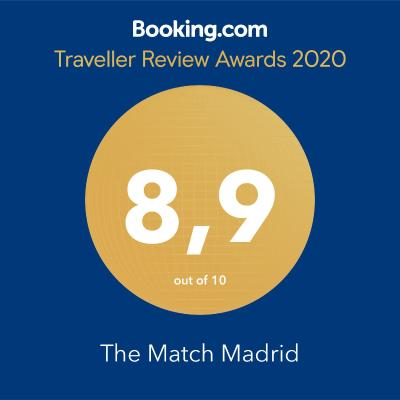 #spain @ Guest house The Match Madrid find hotel discounts /The experience at the match was great. Unbeatable The room is amazing, beautiful. The very comfortable bed, the best I have tried, as well as the pillows. The attention … #World